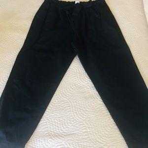 Gap linen pants with tie